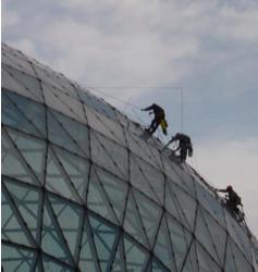Guía para el uso de cuerdas en trabajos verticales