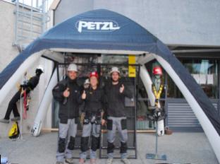 Subcampeones del European Challenge de Petzl!