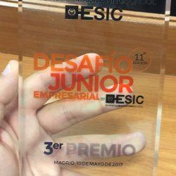 3 Premio DESAFIO JUNIOR EMPRESARIAL ESIC